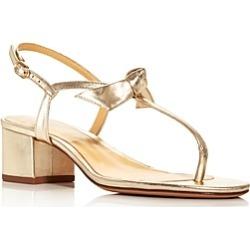 Alexandre Birman Women's Clarita T-Strap Block Heel Sandals found on MODAPINS from Bloomingdales UK for USD $527.81