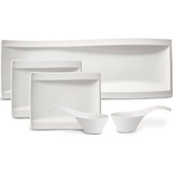 Villeroy & Boch New Wave Antipasti Bowls & Plates, Set of 5 found on Bargain Bro UK from Bloomingdales UK