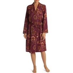 Midnight Bakery Floral Satin Robe found on MODAPINS from Bloomingdales UK for USD $65.20