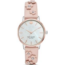 kate spade new york Metro Floral Pink Leather Strap Watch, 34mm found on Bargain Bro Philippines from Bloomingdales Canada for $205.70