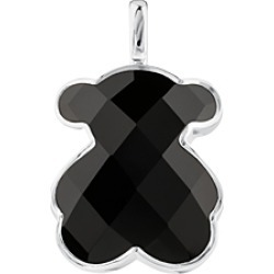 Tous Sterling Silver Onyx Large Bear Pendant found on Bargain Bro India from bloomingdales.com for $179.00