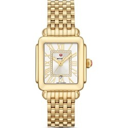 Michele Deco Madison Mid Watch, 29x31mm found on MODAPINS from bloomingdales.com for USD $1795.00