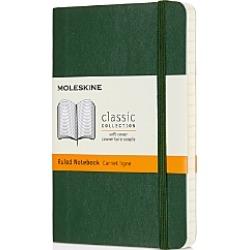 Moleskine Classic Pocket Hardcover Ruled Notebook