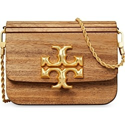 Tory Burch Eleanor Small Wood Convertible Shoulder Bag found on Bargain Bro UK from Bloomingdales UK