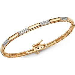 Bloomingdale's Diamond Link Bracelet in 14K Yellow Gold, 1.0 ct. t.w. - 100% Exclusive found on Bargain Bro UK from Bloomingdales UK