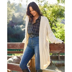 Karen Kane Cable Knit Cardigan found on Bargain Bro from Bloomingdales Canada for USD $66.38
