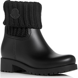 Moncler Women's Ginette Low-Heel Rain Boots found on Bargain Bro Philippines from bloomingdales.com for $375.00