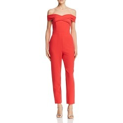 Adelyn Rae Jaden Off-the-Shoulder Jumpsuit found on MODAPINS from bloomingdales.com for USD $113.00