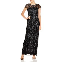 Adrianna Papell Beaded Column Gown found on Bargain Bro India from Bloomingdales Canada for $241.47