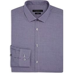 John Varvatos Star Usa Micro-Gingham Slim Fit Dress Shirt found on Bargain Bro UK from Bloomingdales UK