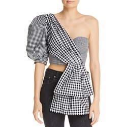 Acler Martia One-Shoulder Bustier Top found on MODAPINS from bloomingdales.com for USD $340.00