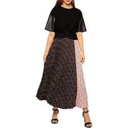 Gracia Pleather Sleeve Twist Hem Knit Top (47% off) - Comparable value $76 found on Bargain Bro Philippines from Bloomingdale's Australia for $42.64