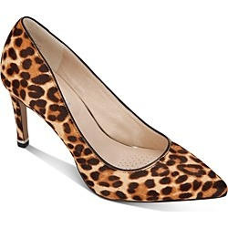 Kenneth Cole Women's Riley Animal Print Calf Hair Pointed-Toe Pumps found on Bargain Bro Philippines from bloomingdales.com for $120.00