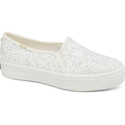 Keds x kate spade new york Women's Triple Decker Glitter Canvas Slip-On Sneakers found on Bargain Bro India from Bloomingdale's Australia for $95.26