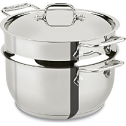 All-Clad Stainless Steel 5-Quart Steamer found on Bargain Bro India from Bloomingdale's Australia for $104.83
