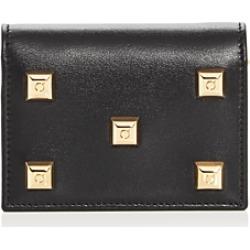 Salvatore Ferragamo Studio Studded Leather Wallet found on Bargain Bro UK from Bloomingdales UK