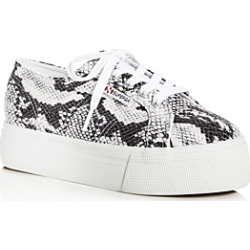 Sneakers Women's Snake-Embossed Low-Top Platform Sneakers found on Bargain Bro India from bloomingdales.com for $34.65