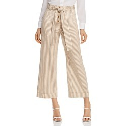 Tory Burch Striped Cropped Wide-Leg Pants found on Bargain Bro Philippines from Bloomingdales Canada for $220.13