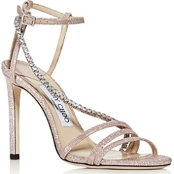 Jimmy Choo Women's Thaia 100 Strappy High-Heel Sandals found on MODAPINS from Bloomingdale's Australia for USD $394.27