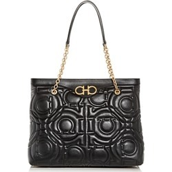 Salvatore Ferragamo Large Gancini-Quilted Leather Tote found on Bargain Bro UK from Bloomingdales UK