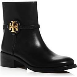 Tory Burch Women's Miller Leather Booties found on Bargain Bro UK from Bloomingdales UK