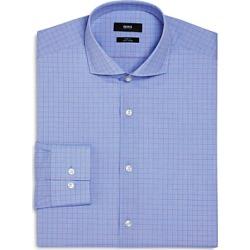 Boss Overchecked Slim Fit Dress Shirt found on Bargain Bro UK from Bloomingdales UK