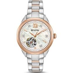 Bulova Two-Tone Automatic Watch, 34.5mm