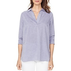 Nydj Dotted Popover Tunic Top found on Bargain Bro Philippines from bloomingdales.com for $53.40