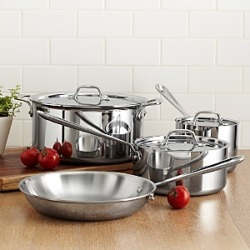 All Clad Stainless Steel 7-Piece Cookware Set - 100% Exclusive found on Bargain Bro India from Bloomingdale's Australia for $531.36