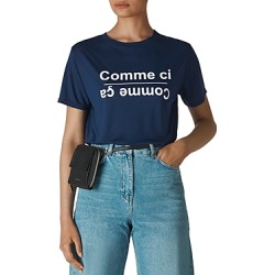 Whistles Comme Ci Comme Ca Tee found on Bargain Bro UK from Bloomingdales UK