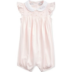 Ralph Lauren Girls' Cotton Smocked Shortalls - Baby found on Bargain Bro India from bloomingdales.com for $65.00