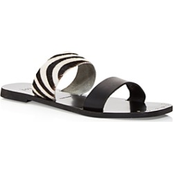 Joie Women's Bannison Calf Hair Strappy Slide Sandals found on MODAPINS from bloomingdales.com for USD $82.80