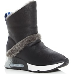 Ash Women's Laika Shearling Wedge Platform Boots found on MODAPINS from Bloomingdale's Australia for USD $300.96