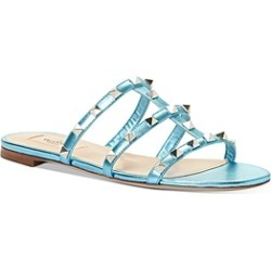 Valentino Garavani Women's Rockstud Slide Sandals found on Bargain Bro India from bloomingdales.com for $695.00