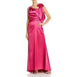 Eliza J Asymmetric Draped Satin Gown found on Bargain Bro Philippines from bloomingdales.com for $136.80
