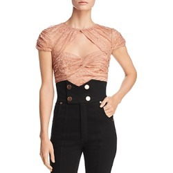 Alice McCall Sweetly Lace Crop Top found on MODAPINS from Bloomingdale's Australia for USD $76.47