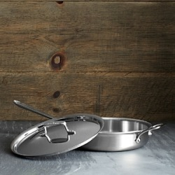 All Clad d5 Stainless Brushed 3 Quart Saute Pan with Lid found on Bargain Bro India from Bloomingdale's Australia for $302.88