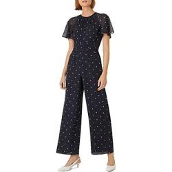 Hobbs London Sarah Polka-Dot Print Jumpsuit found on Bargain Bro UK from Bloomingdales UK