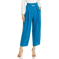 Edeline Lee Belted Cropped Wide-Leg Pants found on MODAPINS from Bloomingdales UK for USD $258.35