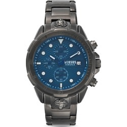 Versus Versace Versus 6e Arrondissement Gunmetal-Tone Link Bracelet Chronograph, 46mm found on Bargain Bro Philippines from Bloomingdale's Australia for $301.66
