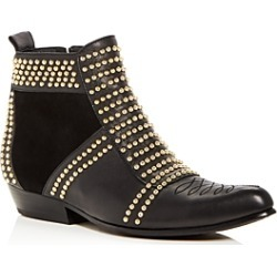 Anine Bing Women's Charlie Studded Leather & Suede Booties found on MODAPINS from bloomingdales.com for USD $699.00