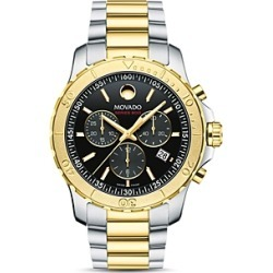 Movado Series 800 Two-Tone Chronograph, 42mm found on Bargain Bro Philippines from Bloomingdales Canada for $884.46