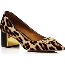 Tory Burch Women's Gigi Pointed Toe Leopard-Print Pumps found on Bargain Bro UK from Bloomingdales UK