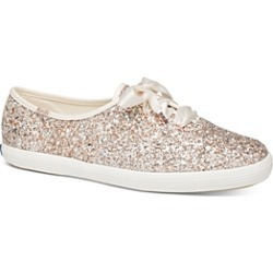 Keds x kate spade new york Women's Glitter Lace Up Sneakers found on Bargain Bro Philippines from bloomingdales.com for $85.00