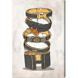 Oliver Gal Dark Arm Candy Wall Art, 16 x 24