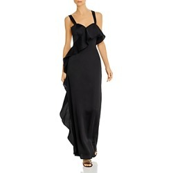Keepsake Lonely Together Ruffled Column Gown found on Bargain Bro Philippines from bloomingdales.com for $79.93