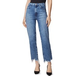 J Brand Jules High-Rise Straight Jeans in Sympathy Destruct found on MODAPINS from Bloomingdale's Australia for USD $85.39