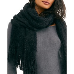 Free People Whisper Fringe Blanket Scarf found on MODAPINS from bloomingdales.com for USD $48.00