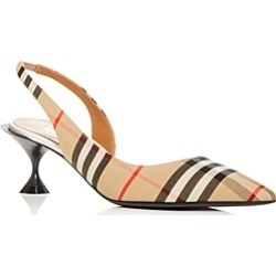 Burberry Women's Leticia Vintage Check Kitten-Heel Pumps found on Bargain Bro Philippines from bloomingdales.com for $590.00