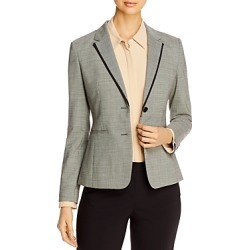Boss Julea Micro-Check Jacket